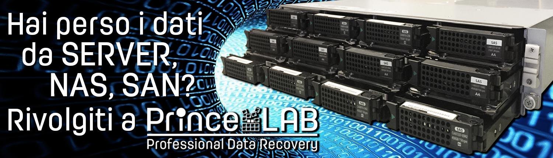 PrinceLAB Srl • Recupero Dati Professionale da Server, NAS, SAN
