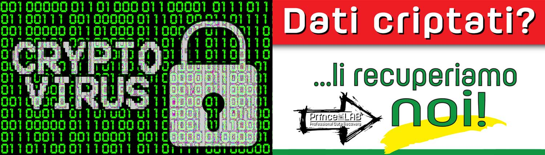 PrinceLAB Srl • Professional Data Recovery • Recupero Dati Professionale - CRYPTOVIRUS