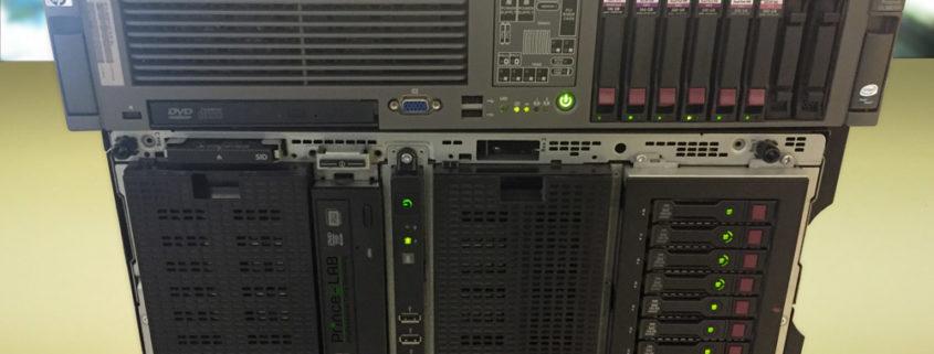 PRINCELAB SRL • Recupero Dati Professionale - Data Recovery eseguito su 2 Server in rack presso il nostro laboratorio