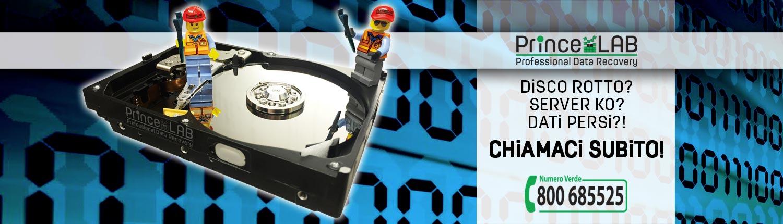 PrinceLAB Srl • Professional Data Recovery • Recupero Dati Professionale - CHIAMACI SUBITO!